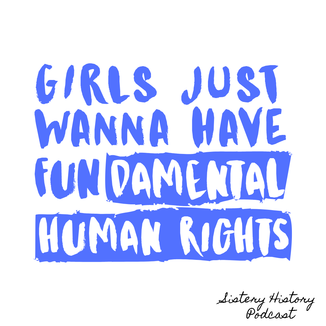 Say it again for the people in the back!  Why not give this post a cheeky retweet and spread the Sistery History word to your friends and family!?  #Podcast #Podcasting #Feminism #Empowerment #Women #Inspiration #Community #Share #FeminismQuotes pic.twitter.com/RIGXKfGbWM