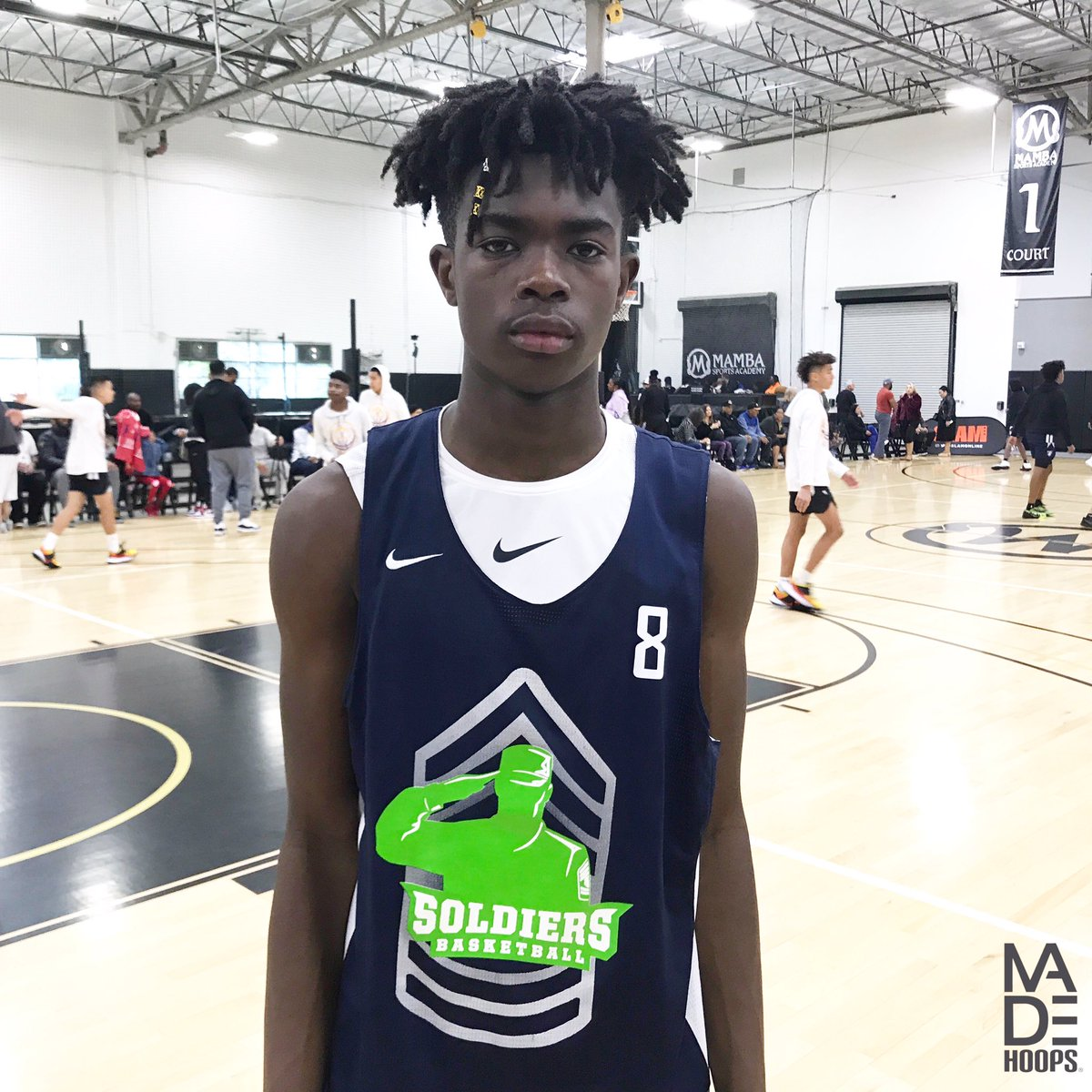 "2024 6'3"" wing Seven Bahati (Los Angeles, CA) really put together a strong weekend at #WestLea8ue. He showed three-level scoring ability. Now it's just a matter of his impressive skills translating to games more consistently. 📈 https://t.co/E755fJChSw"