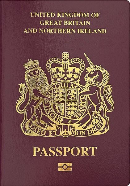 """Okay guys, we need an image that will go on the front of all UK passports.""  ""How about a lion and a unicorn banging a coin that's wearing a crown?""  ""Perfect."" https://t.co/R6qZV137xu"