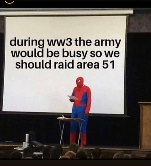 #WWIII #Area51storm #Area51  What we waiting for y'all??<br>http://pic.twitter.com/JEEJBAsJYc
