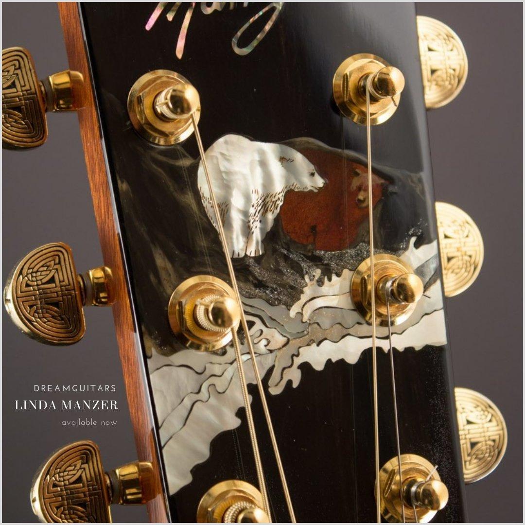 Linda Manzer's The Bear in Koa mood German Spruce #dreamguitars #manzerguitars #lutherie #koa #fingerstyle #germanspruce #bear #guitarinlay #anniversaryguitar #manzerwedge #contemporaryguitar  https://youtu.be/IQRuJ2cTXd4  https://www.dreamguitars.com/shop/2004-manzer-the-bear-koa-german-spruce-10253.html…pic.twitter.com/cC7uJQmPMt