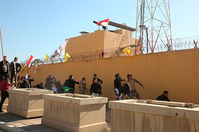#Ampliación Dos cohetes impactan cerca de la Embajada de EE.UU. en Bagdad >>> https://buff.ly/2utJktD