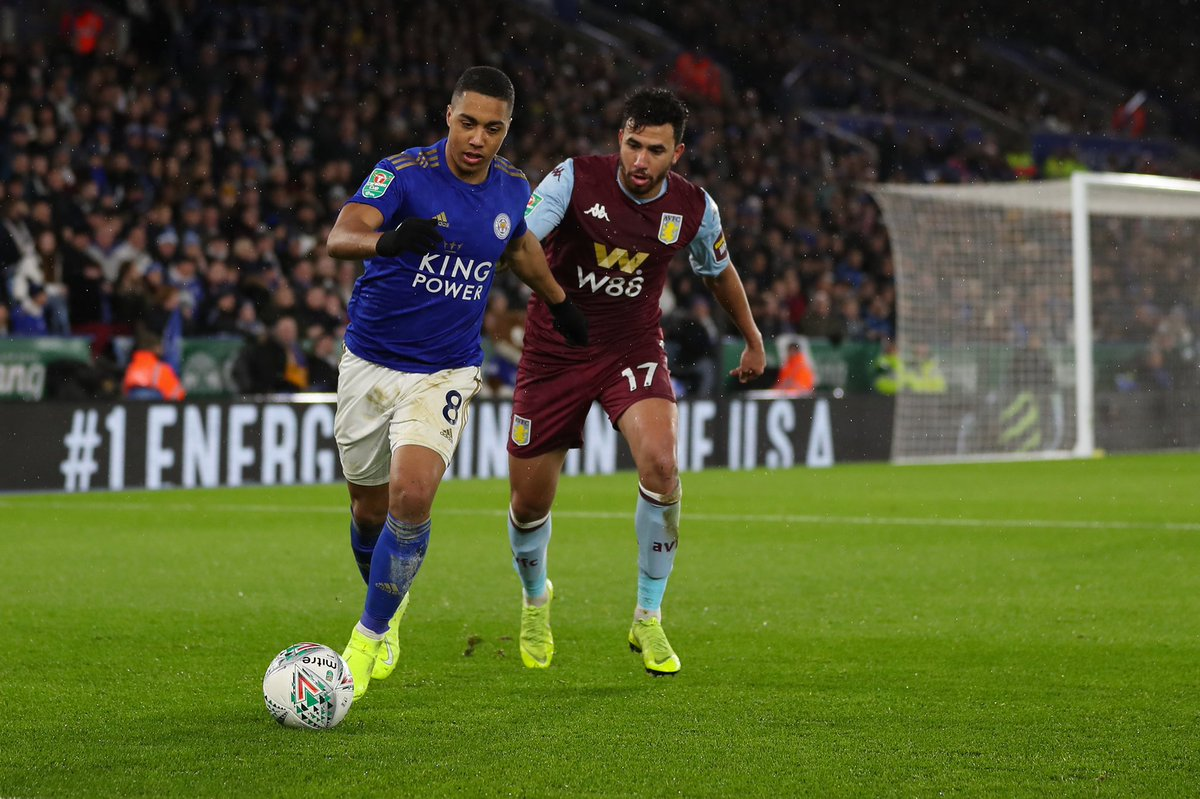 #CarabaoCup - RESULT: Leicester 1-1 Aston Villa A second-half Iheanacho strike secured the draw for Leicester City in the 1st-leg tie against Aston Villa.