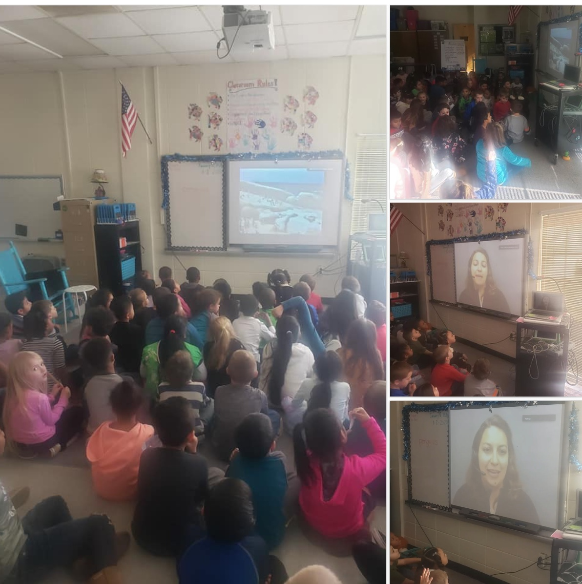 Check out 1st graders participating in Waddle Like a Penguin Program! #CaliforniaAcademyofSciences pic.twitter.com/bpgq6abZB1