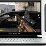Image for the Tweet beginning: Alienware announced a second screen