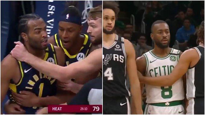 【影片】兩大主場球星遭到驅逐!球迷徹底怒了,瘋狂謾罵裁判,NBA裁判真敢吹!