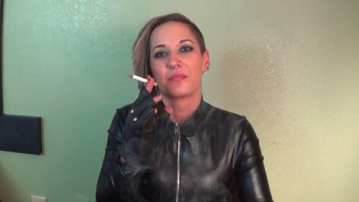 Long Nails Smoking Fetish