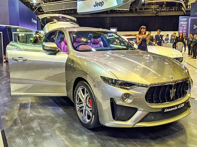 #sgMotorShow2020: #Maserati launches the 2020 #LevanteGTS SUV, with twin turbo V8 engine with 530bhp - at the 15th #SingaporeMotorshow, 9-12 Jan at Suntec Level 4 & 6.  #tech4tea #ttm #sgMotorShow @sgMotorShow #t4tSGmotorShow #t4tSGmotorShow2020 #t4tMotoring #t4tPreviews #t4…pic.twitter.com/rl0rh9QymU