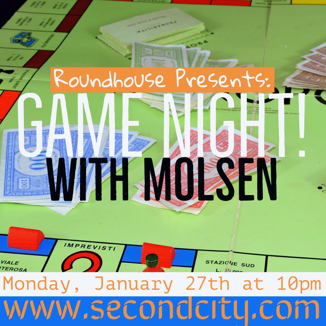 Monday, Monday, Monday! Tickets still available - link in bio! #yesand #improv #comedy #silly #secondcity #hollywood #losangeles #theatre #roundhouse #boardgames #gamenight #molsen #monday #laughs #lol
