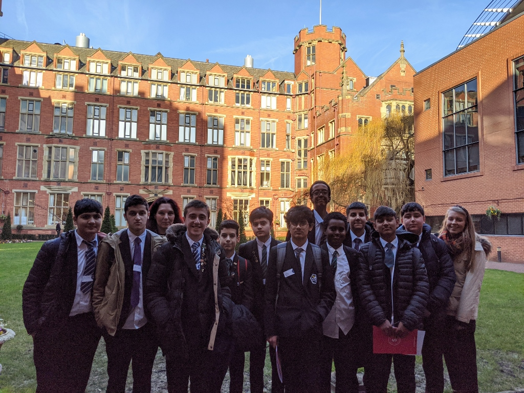 test Twitter Media - A group of students attended their first @BrilliantClub event this week. They travelled to @sheffielduni to be part of the Scholar's Programme launch and are looking forward to their next session already! https://t.co/Xu2yuEN2yU