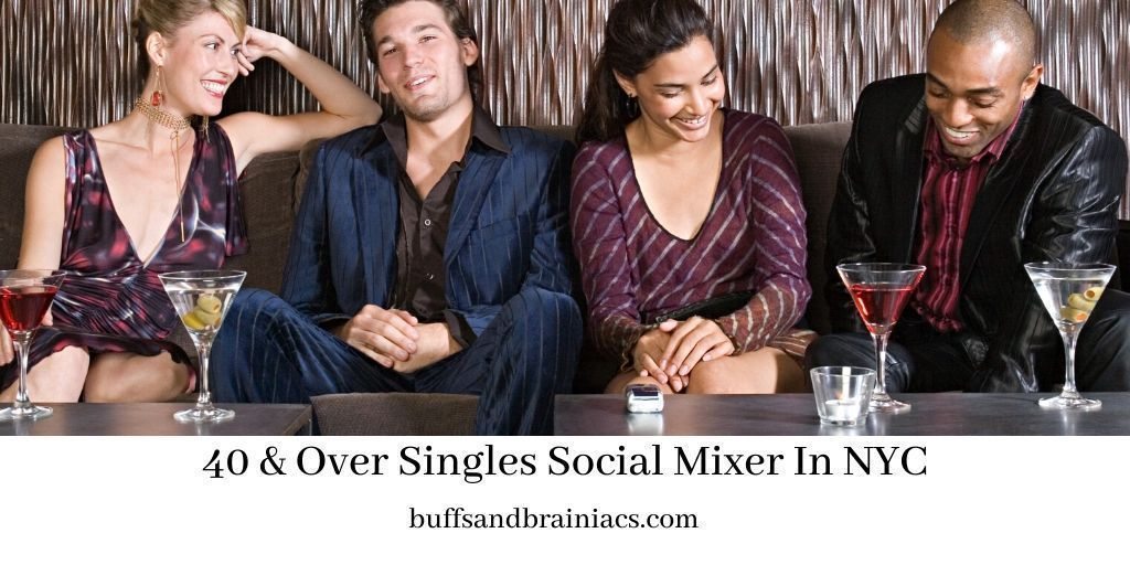 NYC Singles |  |Jan 30 💕🍷40 & Over Singles Social Mixer In NYC  #party #singles #nyc #dating #meetup #networking #WednesdayMotivation