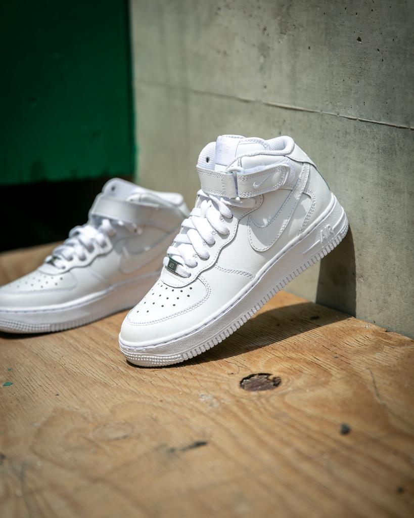 Foot Locker On Twitter Mid Sauce Nike Air Force 1 Mid White