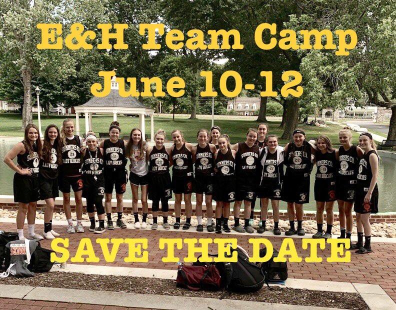 Mark your calendars for Team Camp!!!