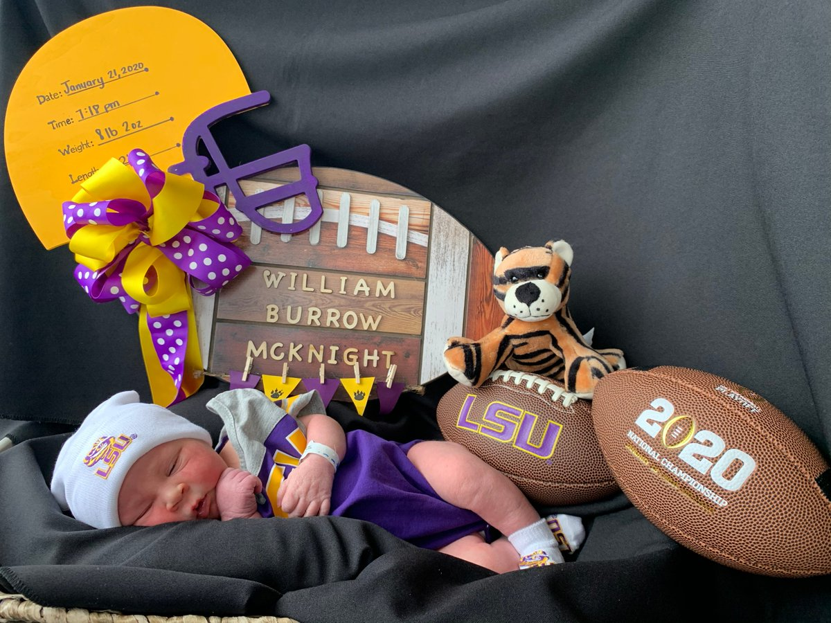 Baton Rouge Family Names Their Son After Joe Burrow