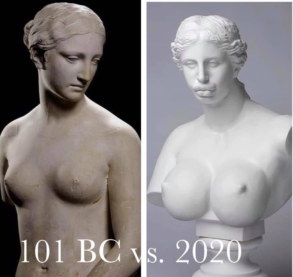 Beauty standards. via /r/funny  #funny #lol #haha #humor #lmao #lmfao #hilarious #laugh #laughing #fun #wacky #crazy #silly #witty #joke #jokes #joking #epic #funnypictures