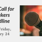 Tomorrow, Friday January 24, is your LAST CHANCE to submit to be a speaker for the 2020 Street and Area Lighting Conference.   Submit your application now! https://t.co/xzIIOrEYZL  #THEIES #IESSALC2020
