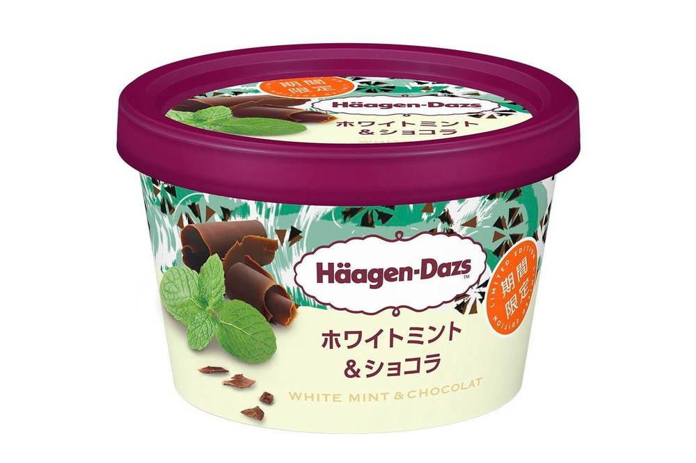 ハーゲンダッツの新作ミニカップ「ホワイトミント&ショコラ」爽やかミントアイスクリームにチョコチップ -