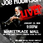 Image for the Tweet beginning: Joe Robinson will be in