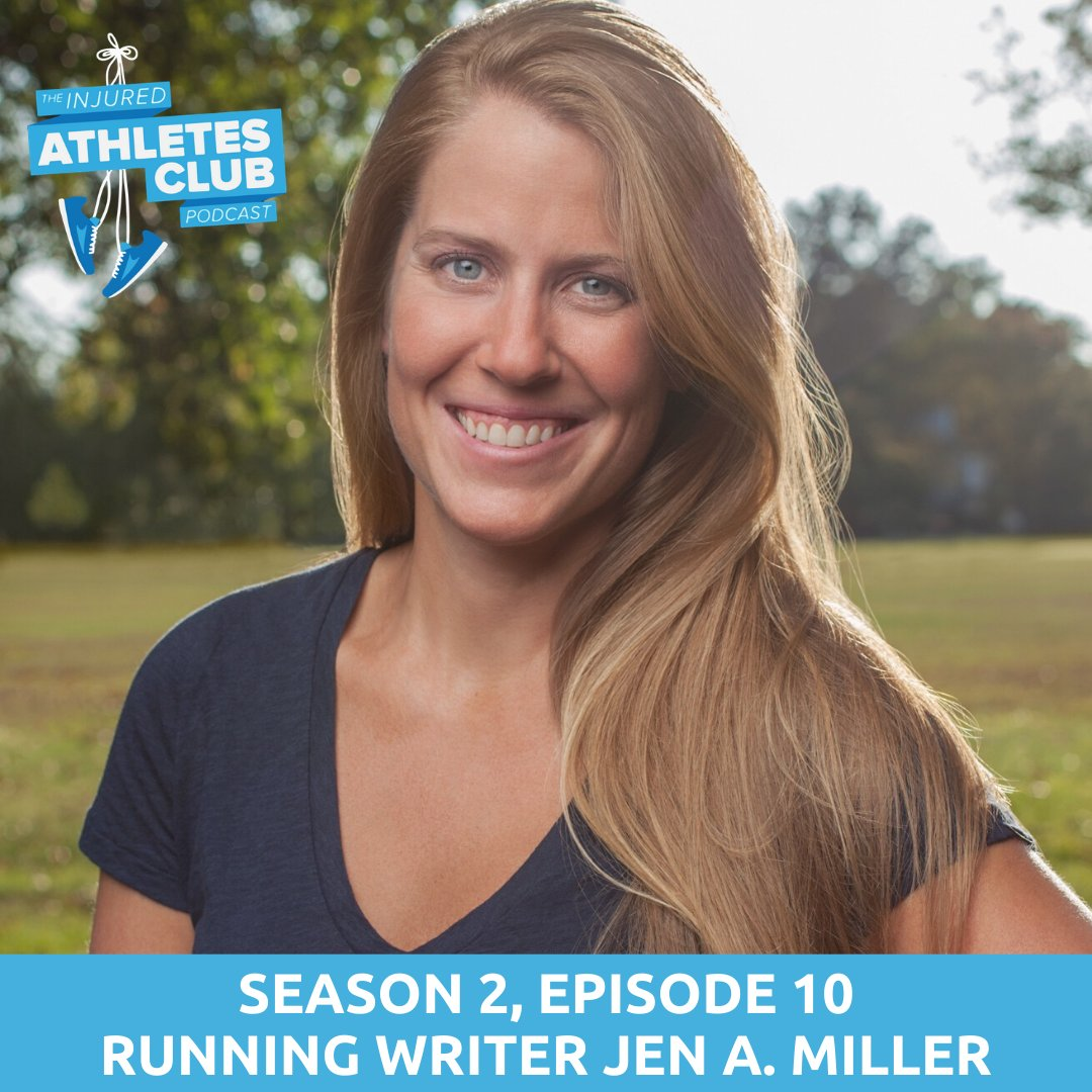 I had to get over the fact that I was not a bad person for getting hurt. On this weeks Injured Athletes Club pod, @nytimeswell running writer @byJenAMiller talks with me & @FeedtheAthlete about her stress fracture and learning to trust her body again: bit.ly/IACMiller