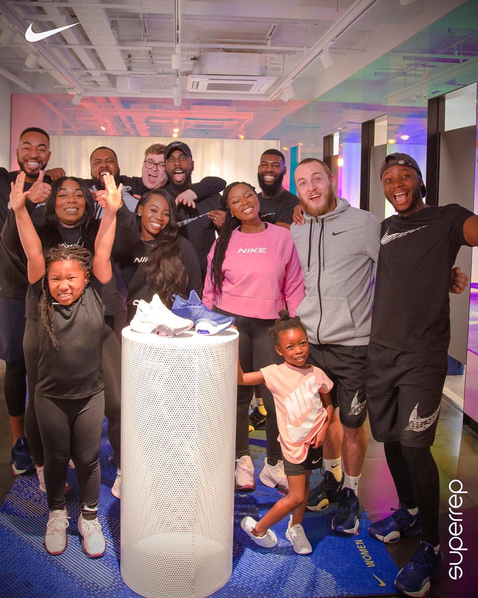 Had to keep this on a low till officially signed but I am happy to announce that CheekySport have partnered up with @Nike Training for 'Superrep' fitness episodes with our friends and family ❤️🙌🏾 we all have targeted fitness goals to be fit for the Hackney Moves festival in May.