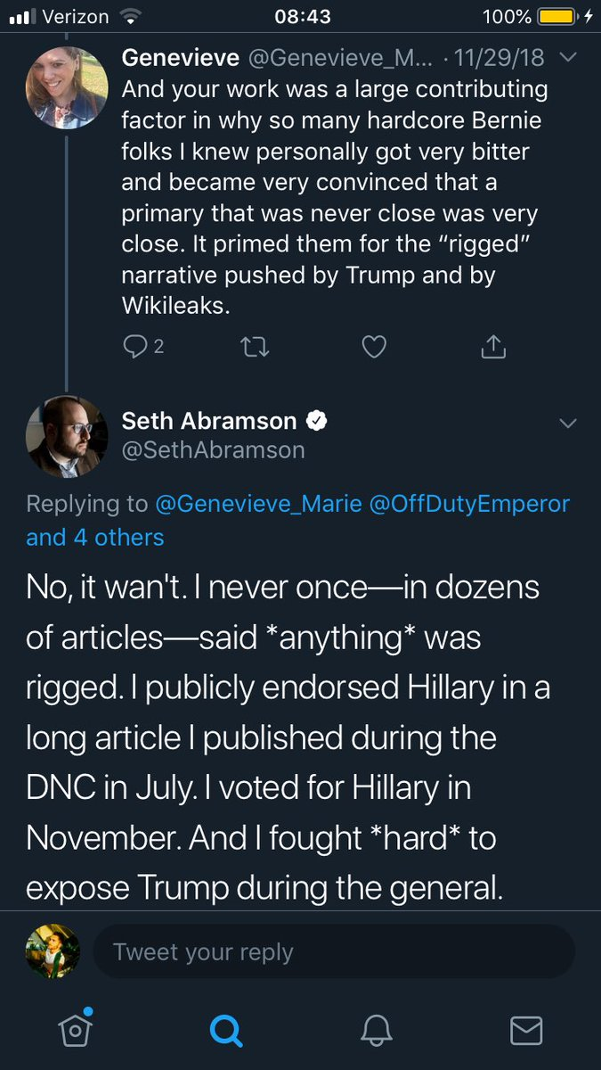Remember kids, the primaries aren't rigged, the DNC is just trying to stop Bernie from winning.