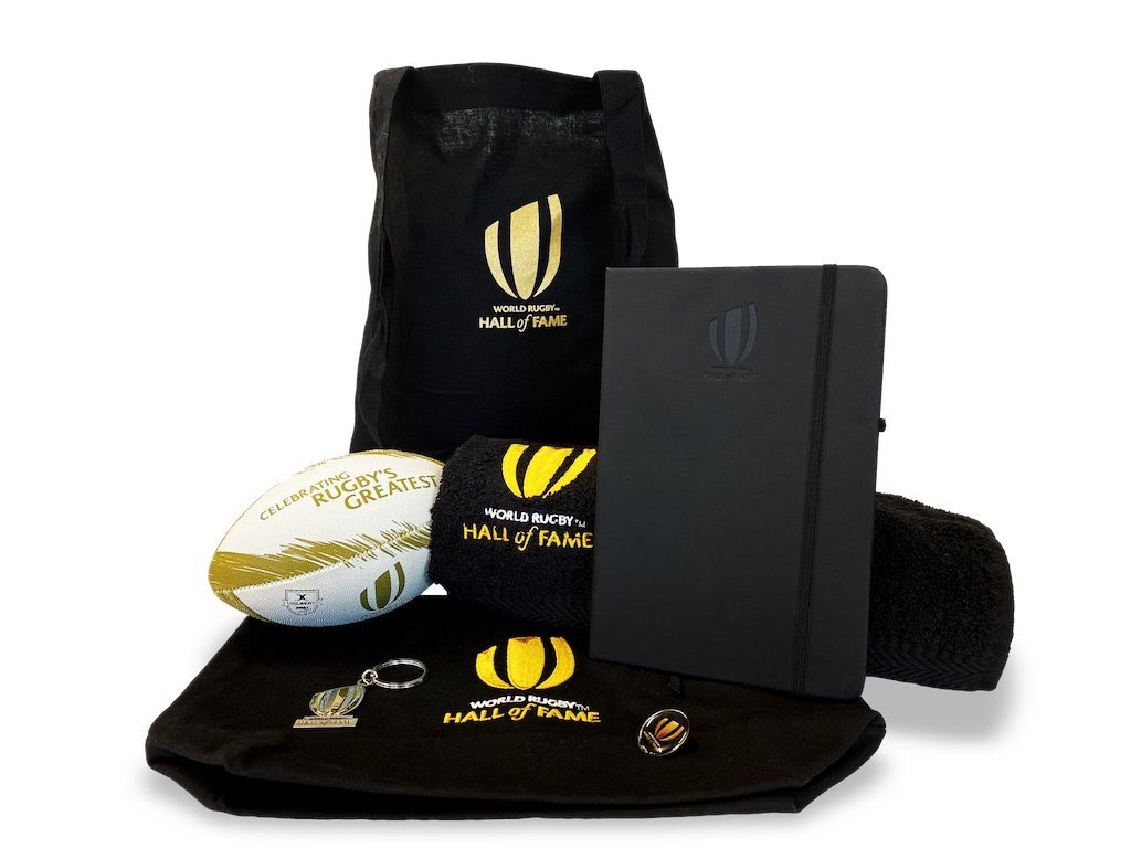 test Twitter Media - Stash. Lots of stash.  Get your hands on some exclusive World Rugby Hall of Fame merchandise by playing the @ShaneWilliams11 Handoff Challenge at the World Rugby Hall of Fame in Rugby, UK  👍  #WorldRugbyHOF https://t.co/Dqgzu6iPdz