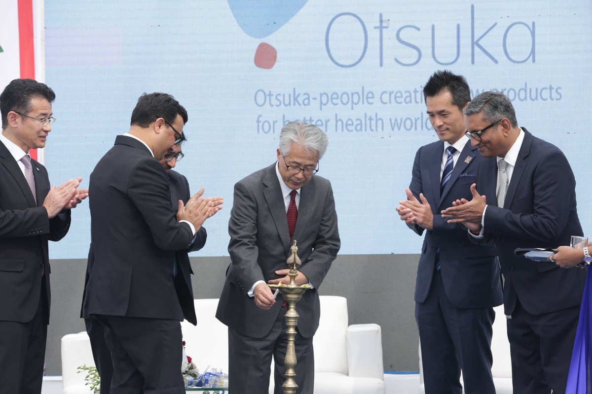 Japanese Ambassador to India Inaugurates Japan-India Institute for Manufacturing (JIM), at a Pharma company premises in Gujarat