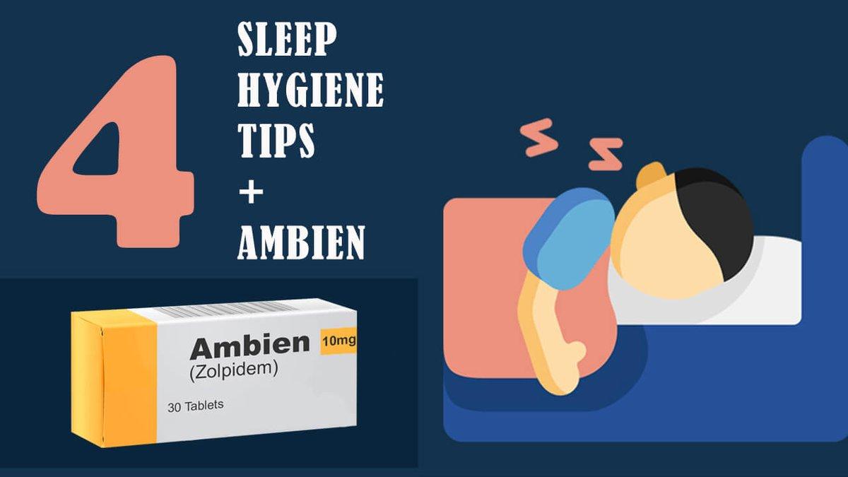 "Check our new article about Good ""Sleep Hygiene"" with Using Ambien    #sleeping #ambien #zolpidem #SleepHygiene #insomnia #Tips #goodsleephygiene #pharmacy"