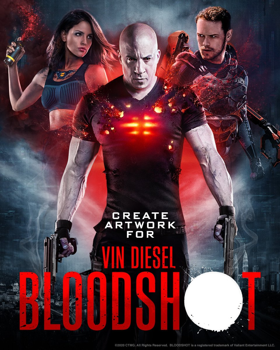 Calling all artists! Create artwork inspired by the motion picture #Bloodshot only At Cinemas March 13   - SonyPicturesUK