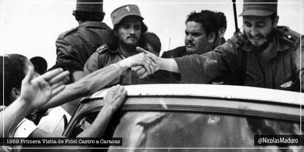 Hace 61 años, llegó por primera vez a la tierra de Bolívar, aquel joven victorioso de la Sierra Maestra, el eterno Cmdte. Fidel Castro. Durante aquella visita, cargada de amor y admiración, nos llamó a consolidar la unidad que hoy es un hecho entre nuestros pueblos. ¡Viva Cuba!