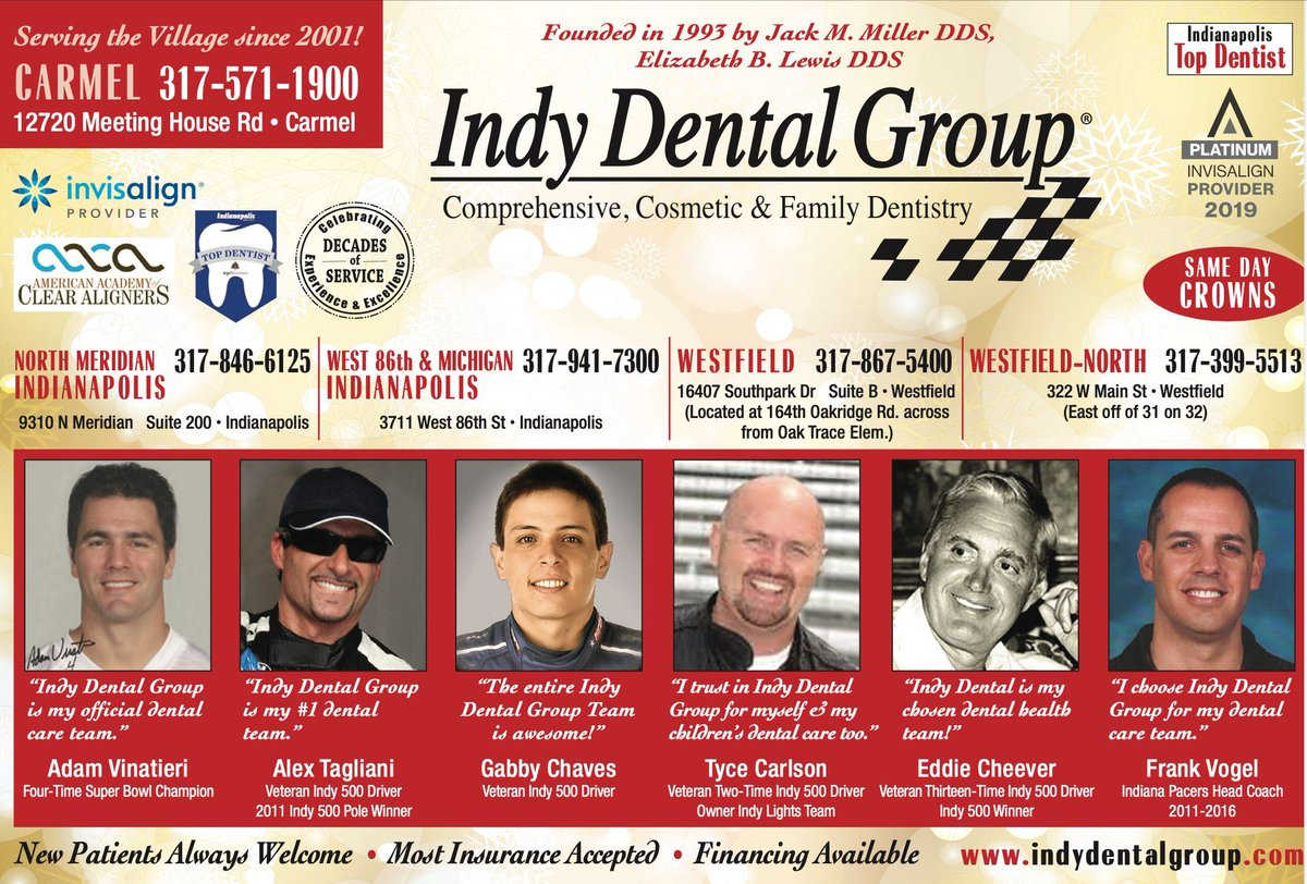 Five Offices to serve you!  #IndyDental #IndyDentalGroup #Doctors #Health #Dental #OralHealth #Westfield #Carmel #Team #Hygienist #Invisalign #Family #Brush #Clean #Dentist #Lumist #Teeth #Indy #Dentistry #CosmeticDentistry #Tooth #DentalHygienist #TeethWhitening