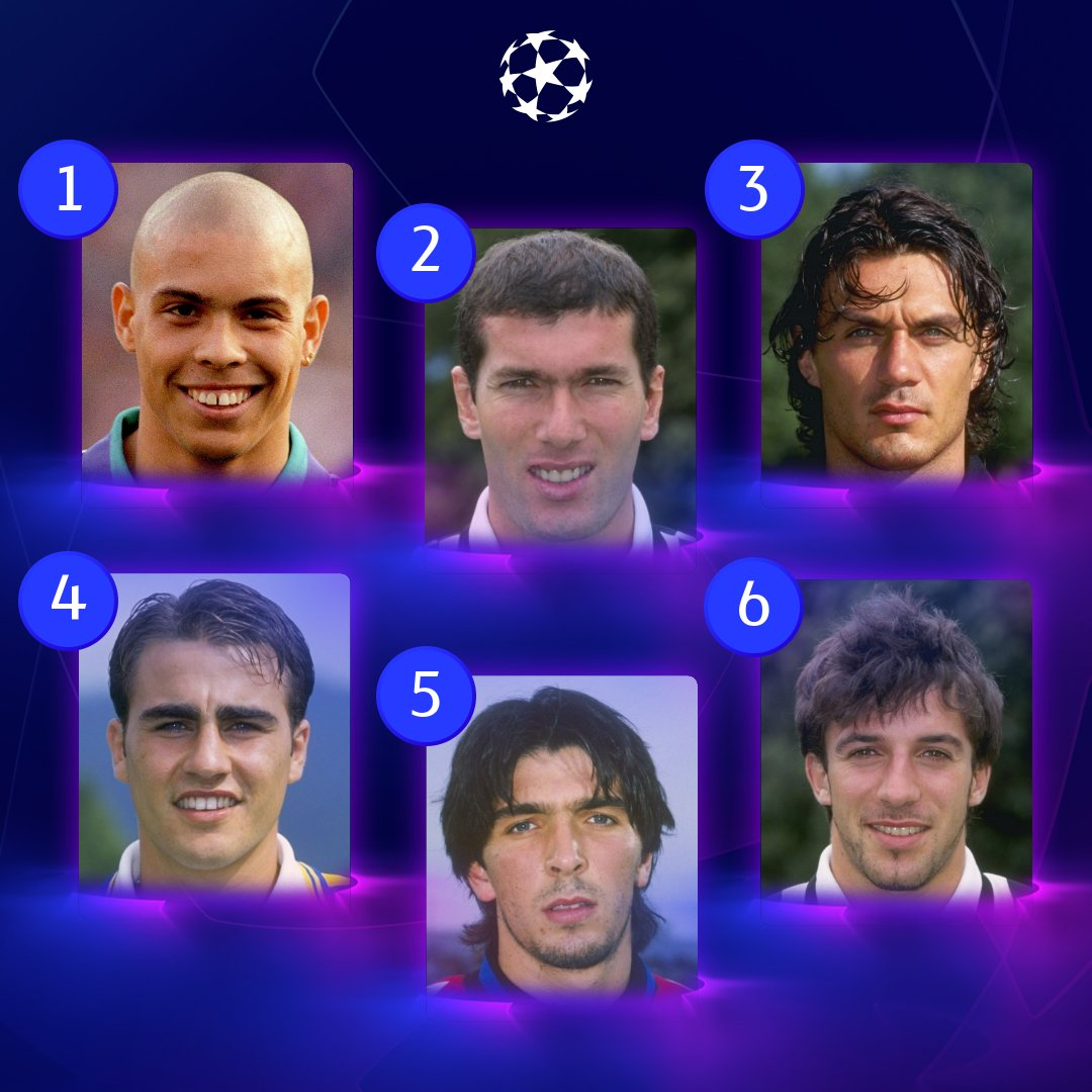 ⏪ #UCL legends pictured back in the day 😮  Tell us who's your favourite & why!