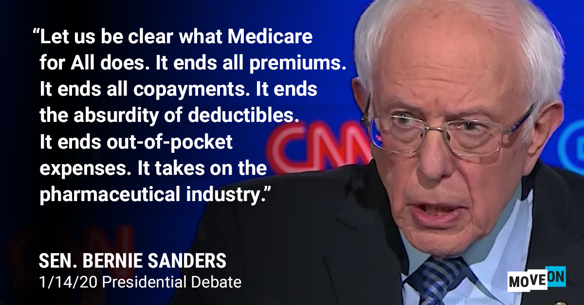 Everyday Americans will be richer and healthier with Medicare for All.