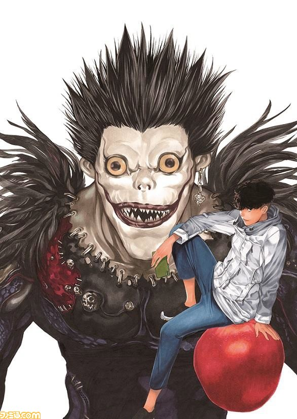 『DEATH NOTE』12年ぶりの完全新作読切が掲載決定! 表紙用描き下ろしイラストが公開