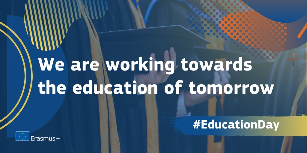 Happy International #EducationDay!   Education is a #humanright and key for building a greener, fairer, more open, inclusive and empowering society.   Follow the thread to find out how we are working towards the education of tomorrow   <br>http://pic.twitter.com/agr9Kb6R7a