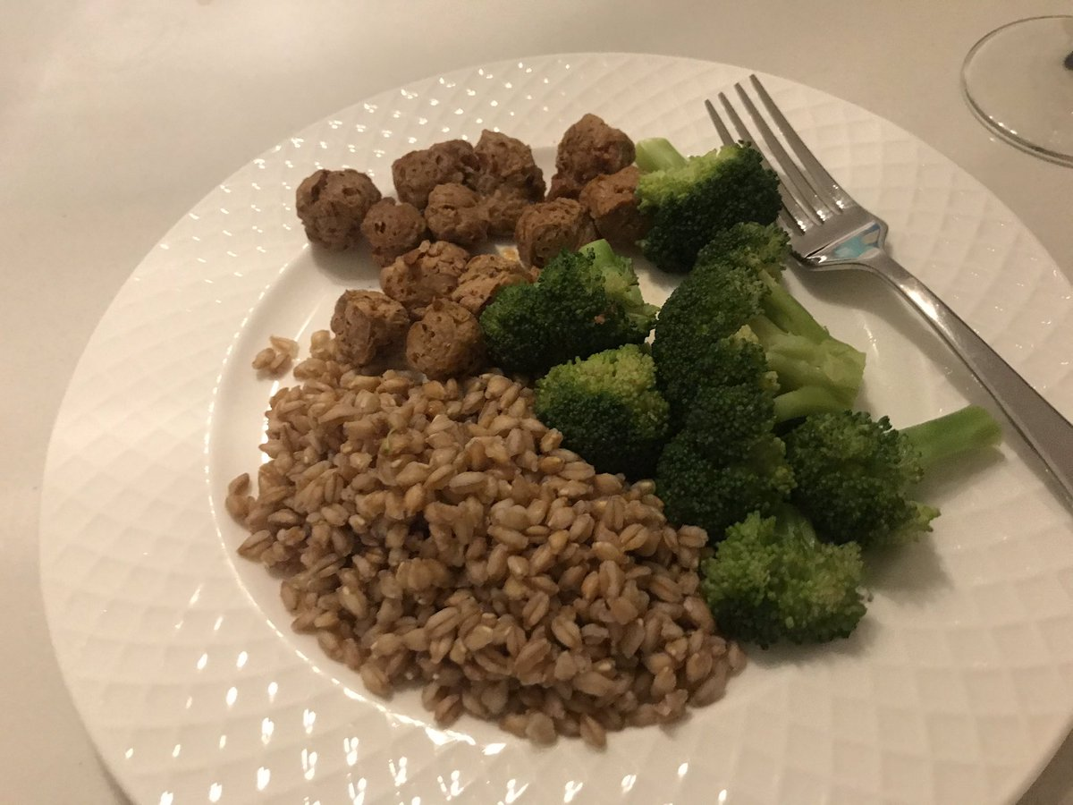 Dinner last night  #vegan #home #NYC