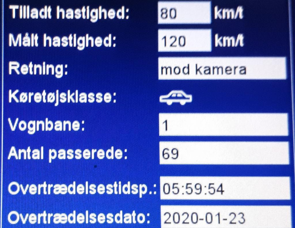 Vi har igen været på Lunderskovvej ved Vejen med fotovognen, dette er stadigvæk vores fokusstrækn. og igen blev der kørt for stærkt, ialt blev 57 blitzet, deraf 3 klip, hvor den hurtigste kørte 120 km/t. Vi kommer igen på Lunderskovvej så sænk hastigheden #atkdk #politidk https://t.co/Dc4cHkZDt2