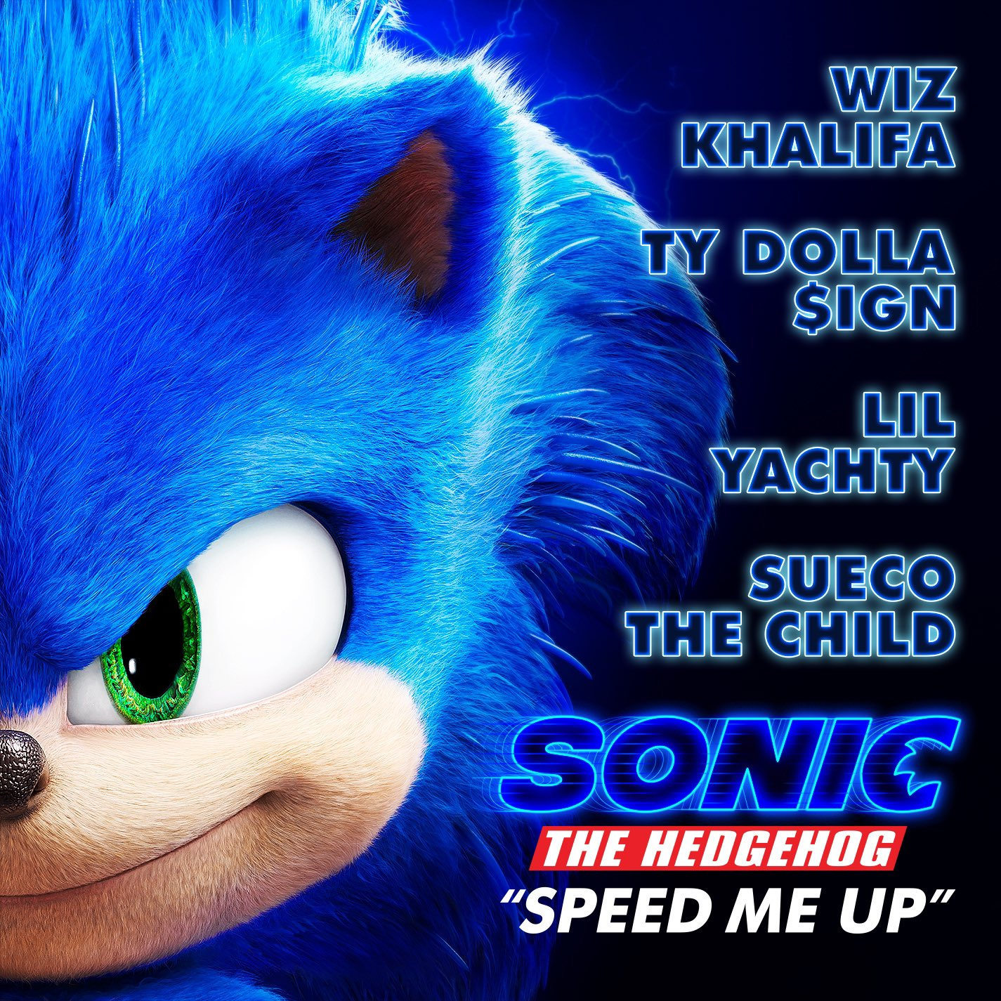 Image result for sonic movie speed me up""