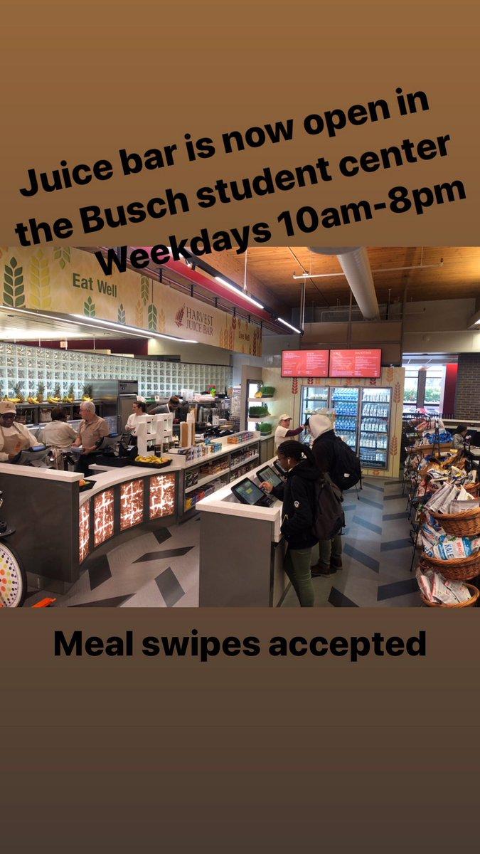 New location alert! Harvest Juice Bar is NOW OPEN