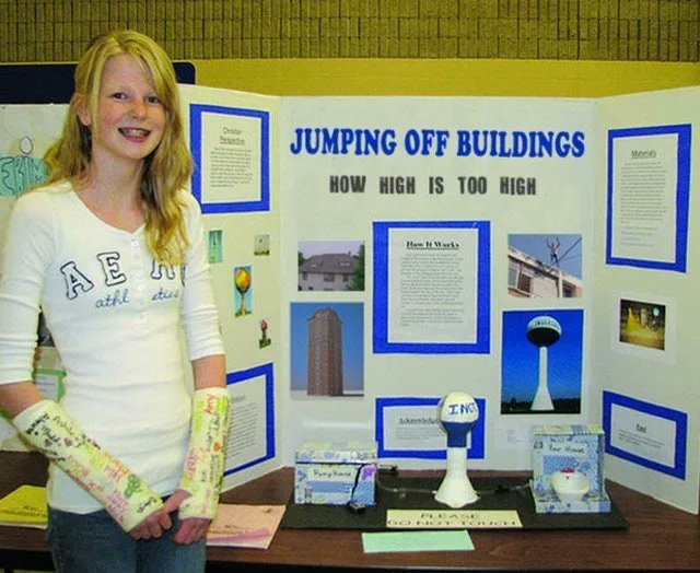 When choosing a topic for Science Fair, it's important to not pick anything that might put you in danger. #SafetyFirst <br>http://pic.twitter.com/Io0Yae3Drm