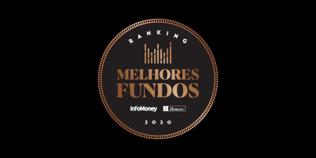 Selo do ranking Melhores Fundos do InfoMoney