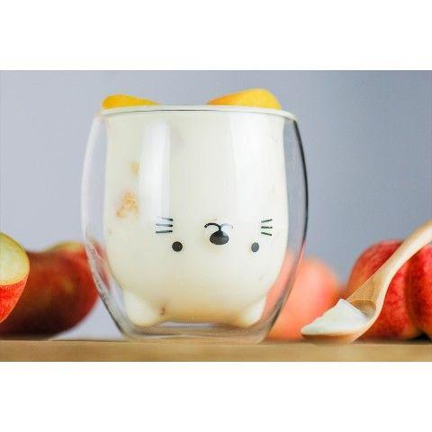 【GOODGLAS】ねこ ダブルウォールグラス https://t.co/Cj8ac7SL4K デザインダブルウォールグラスと呼ばれるグラスの内面にデザインの施された二重構造のグラスです。 入れる飲み物によって猫ちゃんの種類が… https://t.co/YwmKkz1yHQ