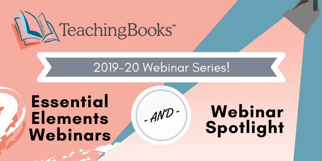 test Twitter Media - Announcing the 2020 TeachingBooks Webinars! Explore our newly expanded menu of webinar options. Sign up now: https://t.co/bc7iDHZVz6 https://t.co/98XfcFBNCT