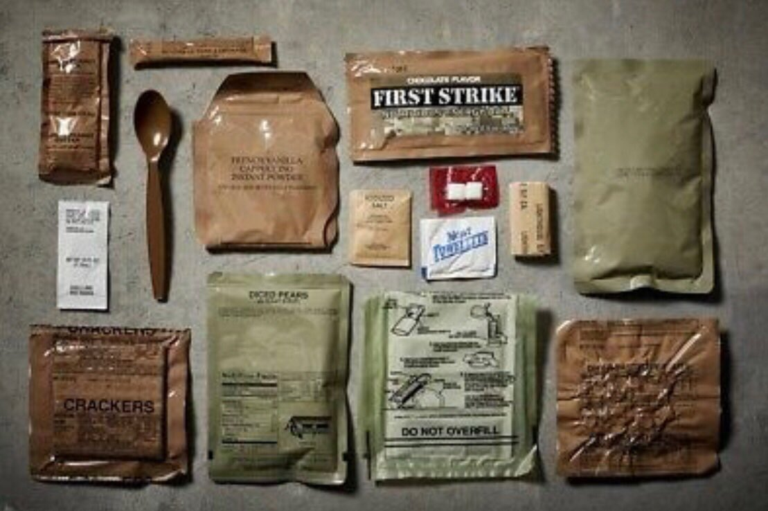 MRE's are a quick meal while you are mobile. #outdoors #nature #ozarksprepared #survival #adventure #prepping #bugoutbag #bushcraft