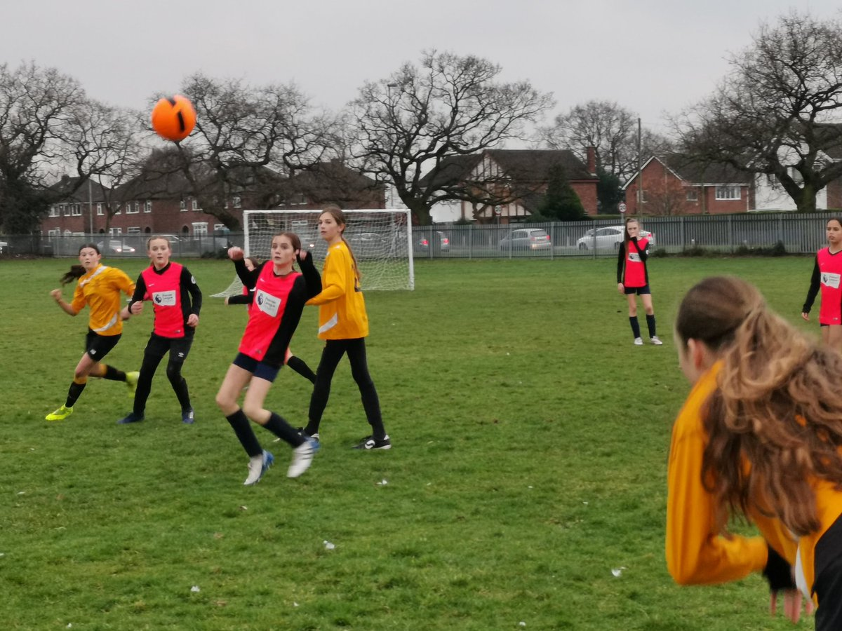 Action shot from today's Cheshire Cup tie against Tarporley #U13s #ThisGirlCan https://t.co/wakTaE3TcB