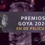 Image for the Tweet beginning: 👉 ¡Sigue los #Goya2020 en