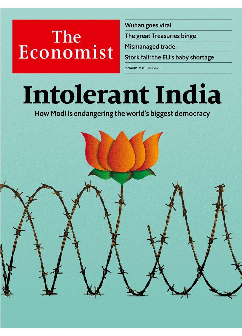 'How Modi is endangering the world's biggest democracy.'Ban gaye Vishwa Guru! Ab aur kitna Vikas chahiye ?