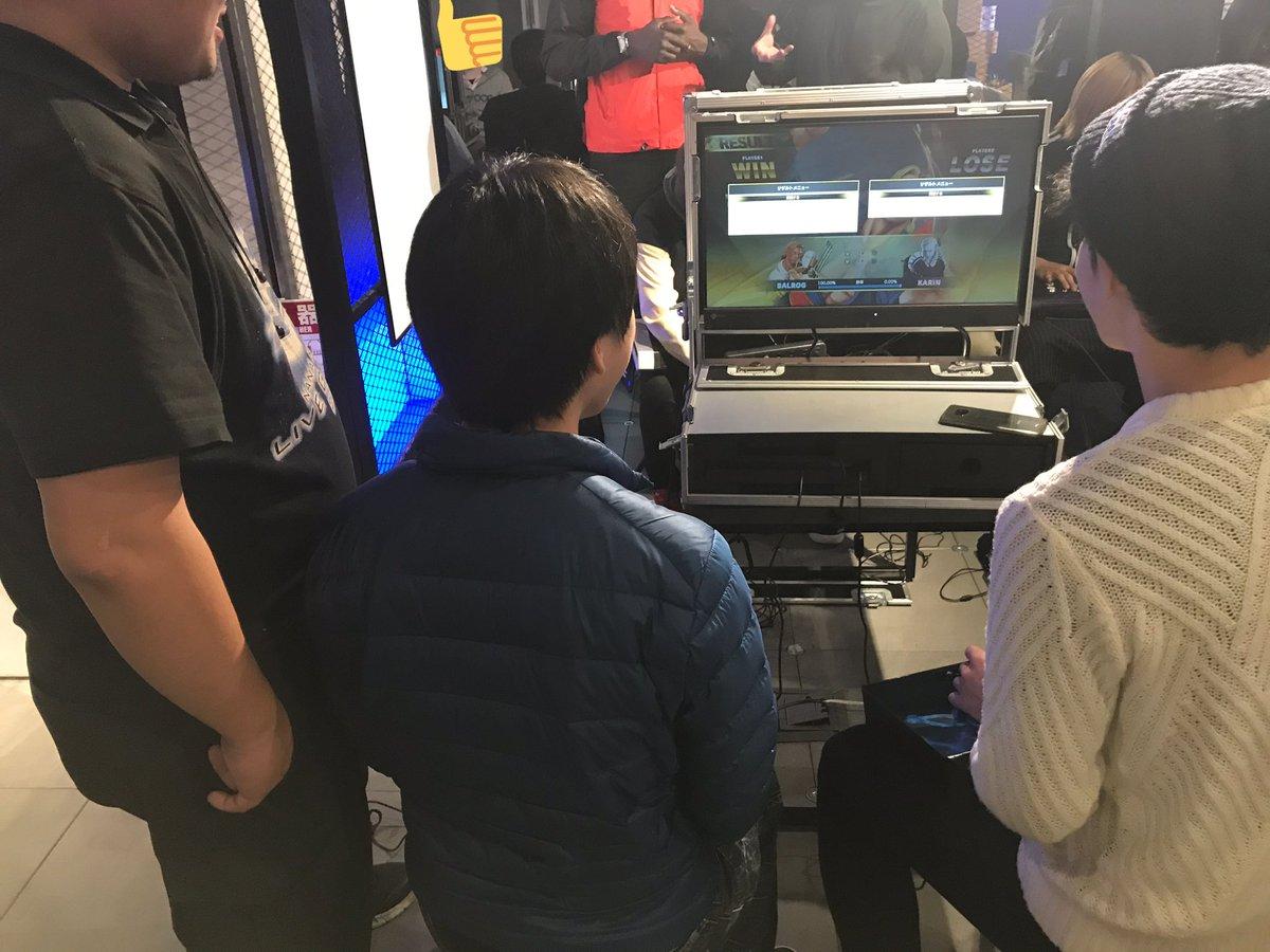 Red Bull Gaming Sphere Tokyo 対戦会に参加してきました。EVOjapan2020前日という事もあり、会場内とても対戦が賑わっていました。対戦していただいた皆様、有難うございました。EVOjapan2020に参加される皆様の健闘を祈ります! #RedBullGamingSphereTokyo #EVOJapan2020
