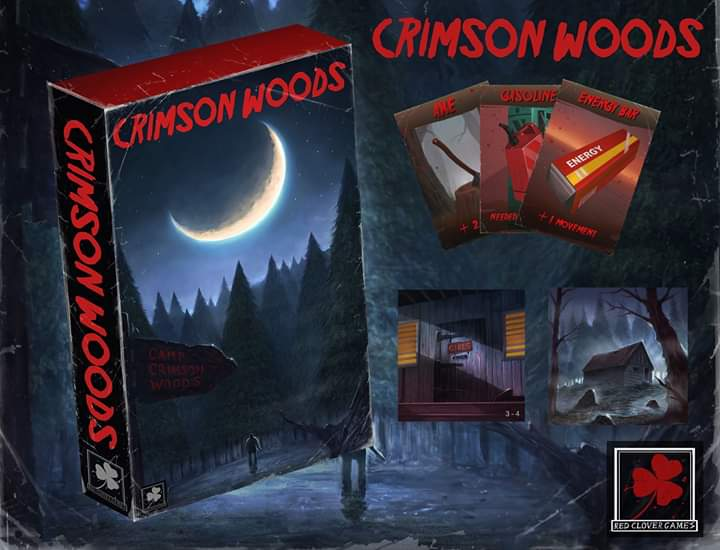 Come check out our Camp! Http://www.campcrimsonwoods.com #fridaythe13th #jasonvoorhees #horrormovies #camp #crimsonwoods #scarymovies #boardgames #gameswithfamily #gameswithfriends #boardgamegeek #bgg #scarypic.twitter.com/BWt2XGJ9Yx