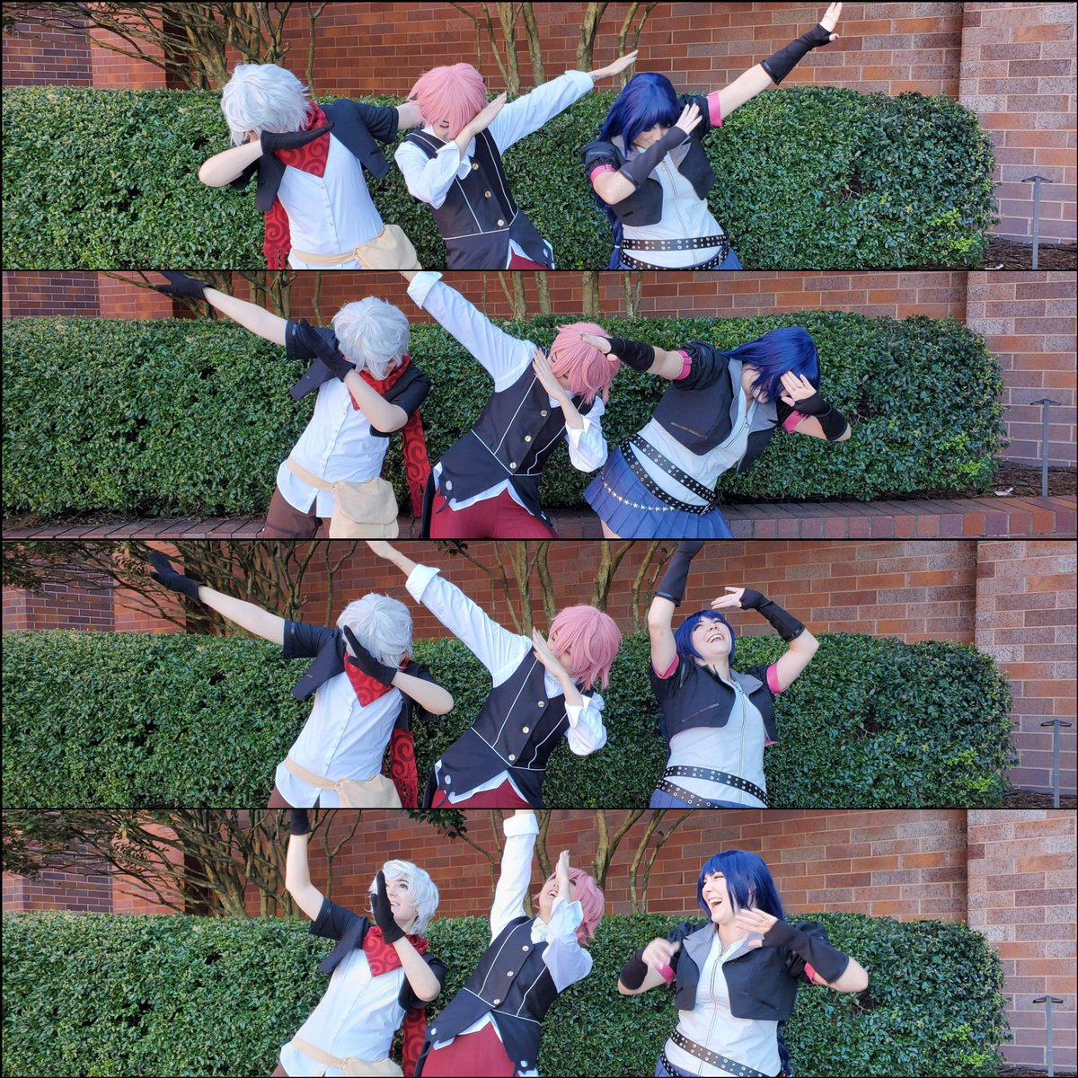 KH Re:Mind DLC is out today! I probably won't get to play until tomorrow but I'm hype.  Here's me (Ephemer), @coffeecatcos  (Lauriam), and @BBBTweetTweet (Skuld) as out favorite Dandelions to celebrate. #KingdomHearts #kingdomheartscosplay pic.twitter.com/iTHtvcFyqH